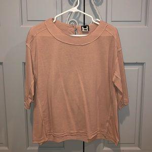 H by Bordeaux Quarter-Sleeve Shirt